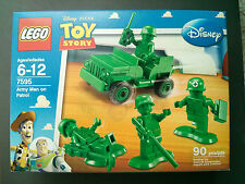 LEGO 7595 Green Army Jeep Patrol  Disney Pixar Toy Story series