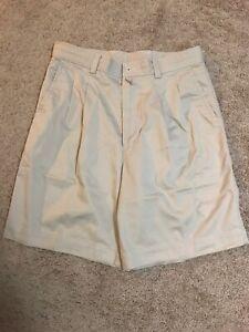 Weekenders Arrow Mens Beige Shorts 100% Cotton Size 32
