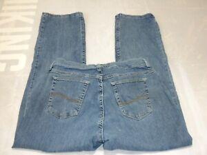 Riders By Lee Womens Jeans 12P Blue Denim Classic Fit Straight Leg Medium Wash