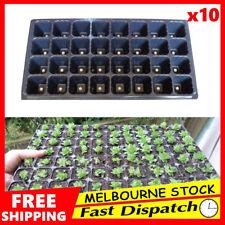 10x 32 Hole Plant Seed Grow Box Insert Propagation Nursery Seedling Starter Tray