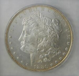1880 Morgan Silver Dollar, ICG MS63 OBDM, OBVERSE DEEP PROOF LIKE, REALLY NICE!!