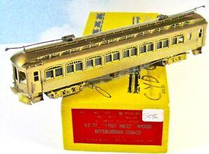 E.Suydam & Co 62 Ft 1907 Niles Interurban Coach Powered HO Brass Japan