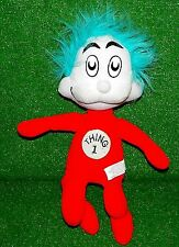 Thing 1 Stuffed Doll Animal Cat In The Hat Dr Seuss Excellent - Ships Fast