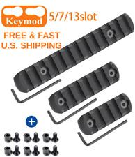 Keym0D Rail Mount Aluminum Picatinny 5, 7, 13 Slot W/ All Hardware Set Of Three