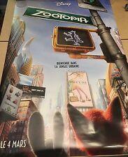 ZOOTOPIA  Original Movie Poster - Advance - DS - 27x40 - French/English Version
