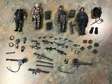 BBi Elite Force 1:18 US Modern Military Figures Accessory Lot