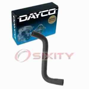 Dayco Upper Radiator Coolant Hose for 2005-2010 Chrysler 300 2.7L V6 Belts sg