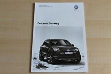 76941) VW Touareg - Technik & Preise & Extras - Prospekt 02/2010