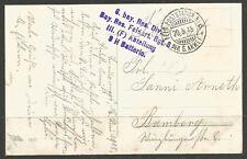 GERMANY. WW1. FELDPOST. 1915. BAVARIAN ARTILLERY. FPO 6 – 6th ARMY.