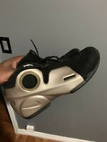 2009 Nike Air Flightposite II LE OG SZ 12 Metallic Zinc Black 386160-001 rare