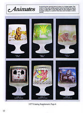 L. E. Smith Glass Co. Animates, 1975-1988 Catalog reprints - Lighting