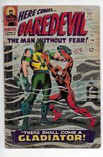 Daredevil #18 1966 Very Good 4.0 1st Glatiator