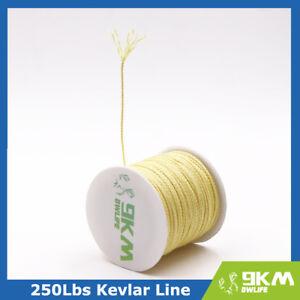 300ft 250lb Kevlar Line String Fishing Line Kite Flying Cord Made with Kevlar