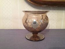 Cristal de Bohême,Petit vase,XX°,Art Déco .