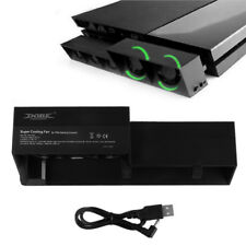 For PS4 Cooling Fan USB External 5-Fan Super Turbo Temperature Cooling BC2