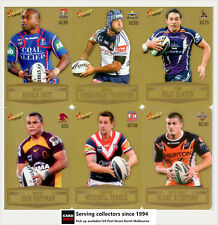 2012 Select NRL Champions Trading Cards Gold Parallel Card Full Set (192)-UNIQUE
