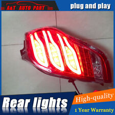 LED Rear Lights Assembly For Chevrolet Spark 10-14  Dark / Red LED Tail Lamps
