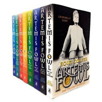Eoin Colfer Artemis Fowl Series 8 Books Collection Set Pack Opal Deception New