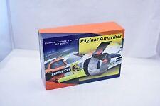A28  FLY CAR MODELS 1/32 SLOT CARS MARCOS LM 600 PAGINAS AMARILLAS GT 2001