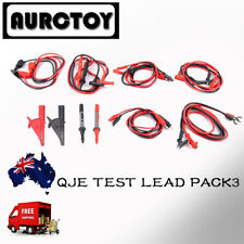 Multimeter test leads 8 in 1 Set probe Alligator clip for Fluke VC99 VC97 Meter