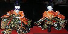 Traditional Japanese Hina Dolls 2G Lots VTG FROM JAPAN oriental TALL GEISHA