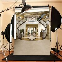 5X7FT Thin Vinyl Photography STAIRCASE Background Backdrop Studio Props US HOT