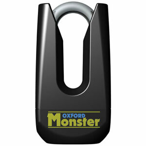 Oxford Monster Disc Lock Yellow