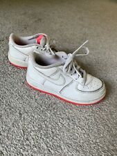 Girls Nike Air Force Pink Trainers Size Uk 9.5