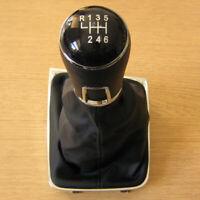 Pomo Palanca + Funda Cuero 6 Velocidades para VW Golf 7 mk7 VII 2012+