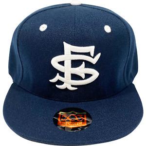 San Francisco Seals Fitted Hat SF Baseball Cap Joe Dimaggio Giants