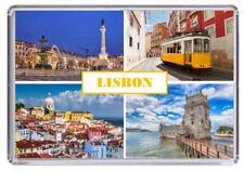 Lisbon Portugal Fridge Magnet 03