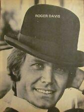 Dark Shadows, Roger Davis, Full Page Pinup