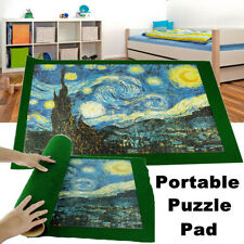 500/1000 Pieces Portable Puzzle Roll Up Pad Universal Jigsaw Carrier Storage Mat