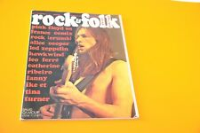 ROCK & FOLK RIVISTA FRANCE N° 71 DEL 1972 PINK FLOYD EN FRANCE COMIX ROCK