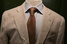 Suitsupply Light Brown Oatmeal Silk Blend Sport Coat Size 44R