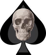 Ace of Spades Skull Decal Truck Car Vinyl Sticker