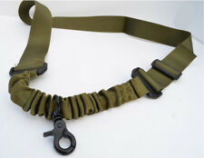 Nylon Bungee Single Point One Point Sling Tactical Rifle Gun Sling - OD Green