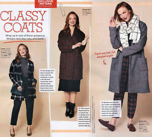 Oversize COSY COAT JACKET Unlined Easy Prima Sewing Pattern 10 12 14 16 18 20