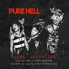 Pure Hell - Noise Addiction: 1978 New York & London Sessions [New CD] NTSC Regio