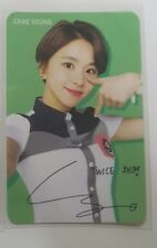 Twice Skoolooks Ver.1 CHAEYOUNG Official Photo Card Photocard K-POP