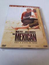 """DVD """"THE MEXICAN"""" EDICION ESPECIAL GORE VERBINSKI BRAD PITT JULIA ROBERTS"""