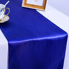12''x108'' Satin Table Runners Wedding Banquet Party Decors Long Table Clothes