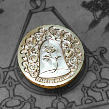 Beauty and the beast Rose Letter Picture Logo wedding Invitation Wax Seal Stamp