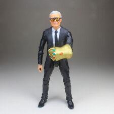 "Marvel Legends Custom Excelsior Stan Lee Head Sculp Suited Body 6"" Action Figure"