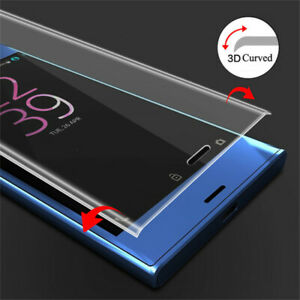 3D Full Cover Tempered Glass Screen Protector For Sony Xperia XZ /XZ Premium as