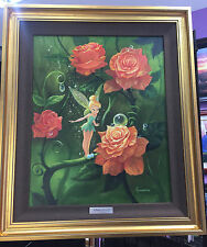 Tinker Bell's Garden - Micheal Humphries - Silver Series On Canvas Disney