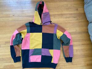 Supreme FW17 Multicolor Patchwork Hoodie Size Large  Playboi Carti Rare