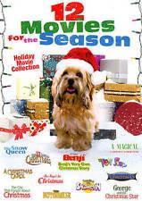 12 MOVIES FOR THE SEASON (DVD, 2013, 2-Disc) BENJI'S VERY OWN CHRISTMAS LIKE NEW
