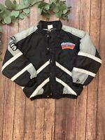 Vtg Rare 90's NBA San Antonio Spurs Fiesta Logo Starter Jacket Kids Large 16/18