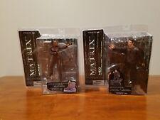 Lot Of 2 Matrix Reloaded McFarlane Toys Series 2 - Neo & Niobe - New in Package